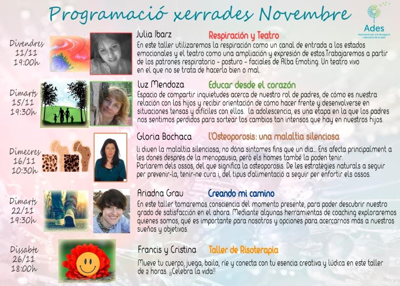 agenda-xerrades-novembre
